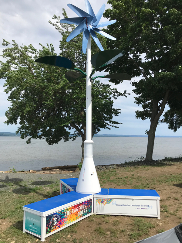 EnergiPlant installed at Stony Point Waterfront Park, New York